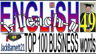 i-Teach-u ENGLiSH top 100 essential Business words _ _