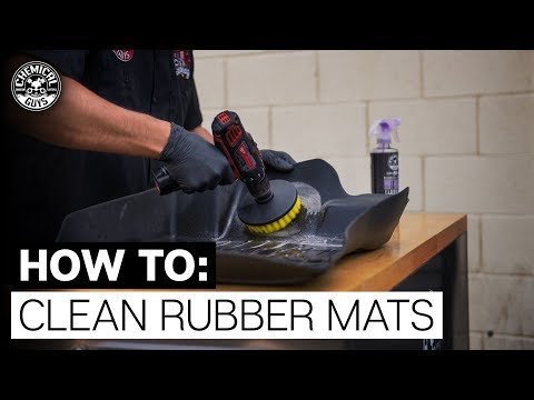 How To Clean and Protect Rubber Floor Mats | Scion FRS | Chemical Guys