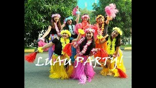 Hawaiian Barbeque Party! (Luau Party) || Poti Travels
