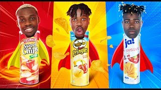 Pringles VS Aldi Chips VS Rewe Chips | FOOD WARS