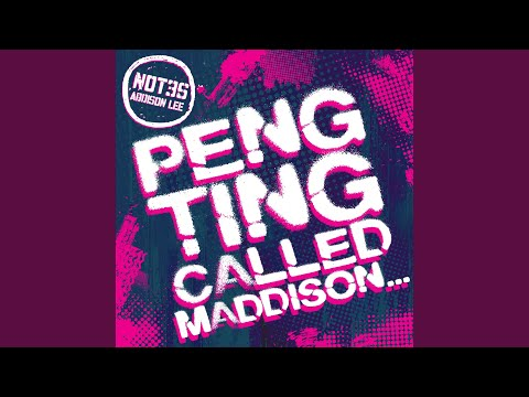 Addison Lee (Peng Ting Called Maddison)