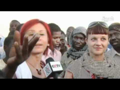 Nubian wrestlers gear up in Sudan