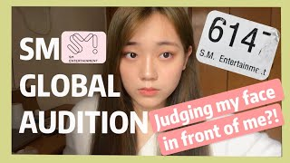 [中/ENG sub]I was stayed in SM GLOBAL AUDITION?!我在SM全球選秀被留下來了?!被評論長相?My SM GLOBAL AUDITION experience