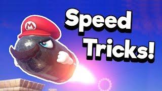 Top 5 Speedrunning Tricks in Super Mario Odyssey Explained! | Nintendrew