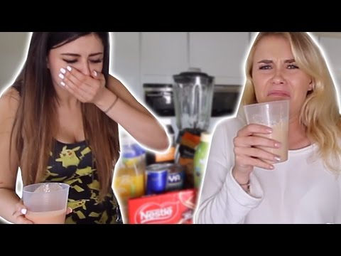 SMOOTHIE CHALLENGE WITH AZZYLAND!