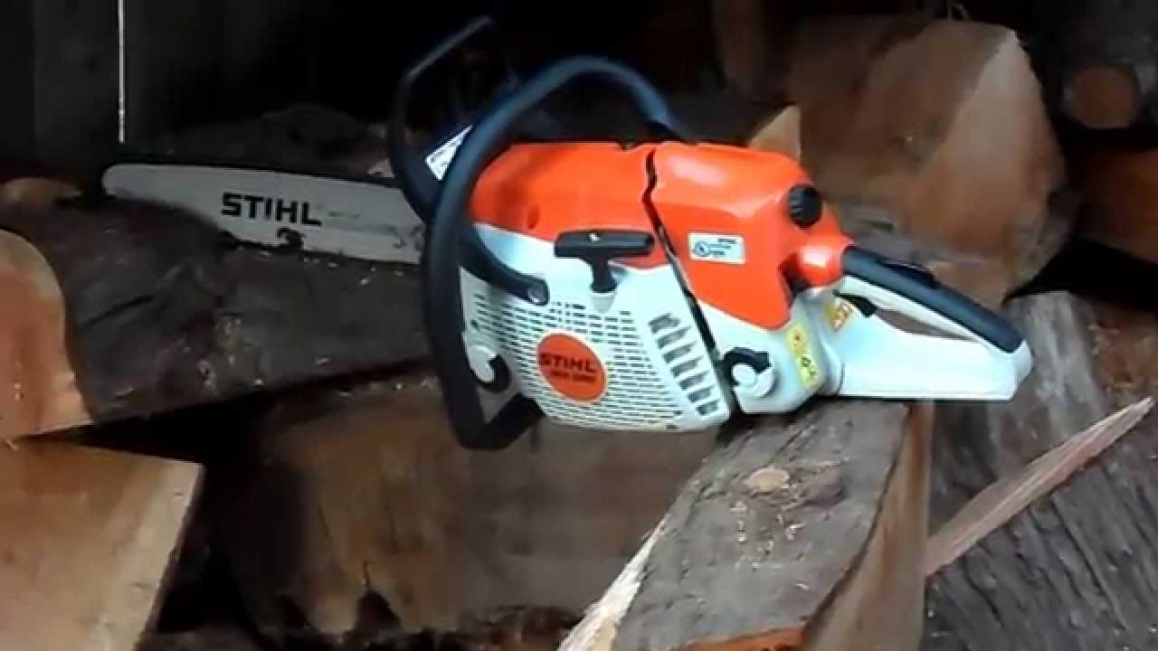 Super Stihl chainsaw ms 280 - YouTube #YJ_11