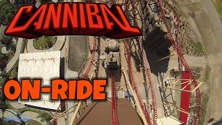 Cannibal On-ride Front Seat (HD POV) Lagoon Park