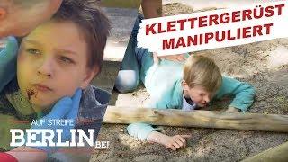 Mutwilliger Anschlag auf einem Kinderspielplatz | Auf Streife - Berlin | SAT.1 TV