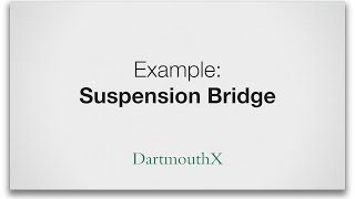 Analyze and calculates loads of a suspension bridge and comparing to a cable stayed bridge