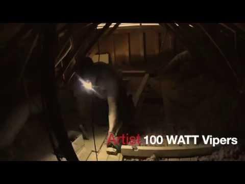 HVAC Install: Closet to Attic Relocation
