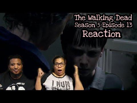 The Walking Dead   REACTION - Season 5 Episode 13