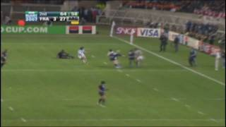 RWC 2007 resumen Argentina vs. Francia 3er puesto - Highlights  (HD)