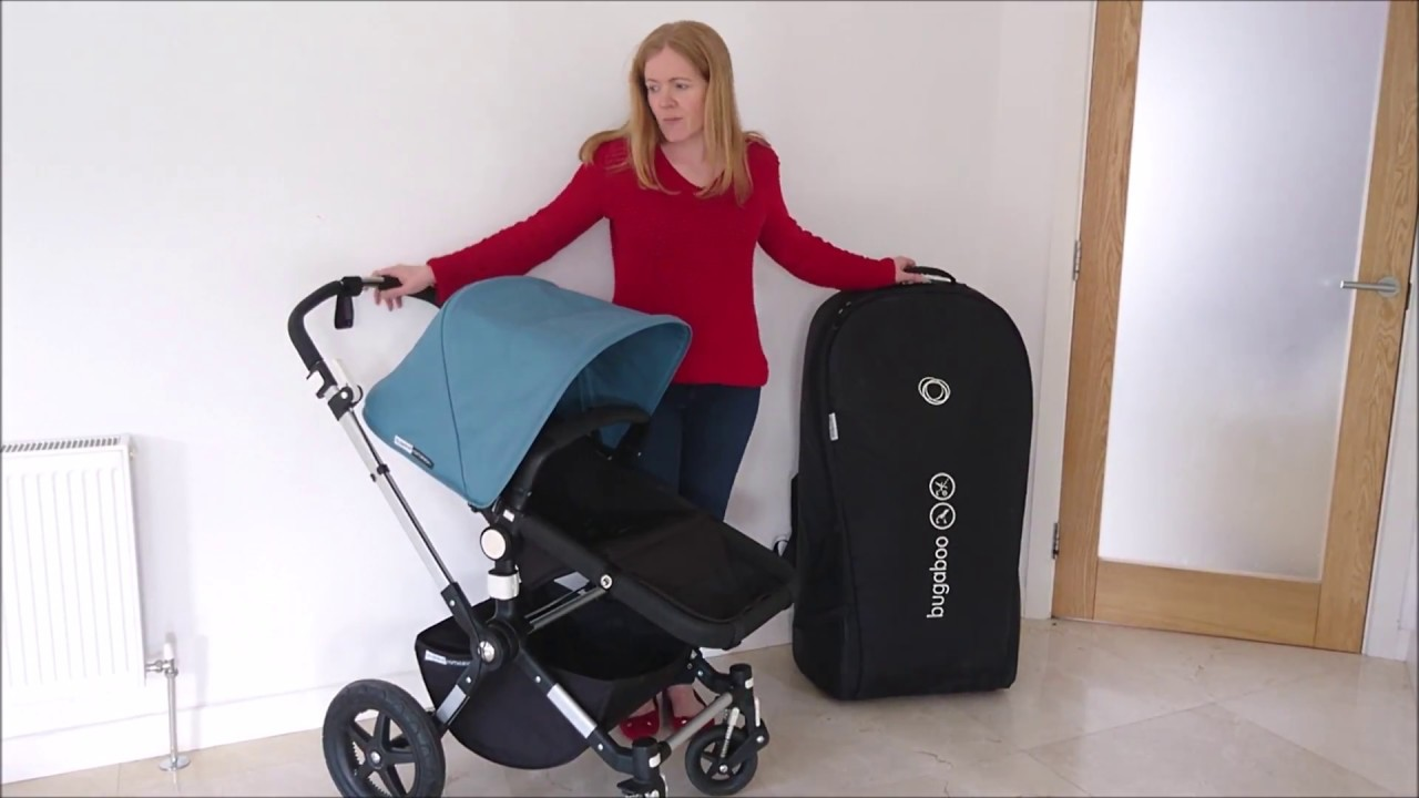 Bugaboo Stroller How To Fold Bugaboo Cameleon 3 How To Fold Bugaboo Cameleon 3 And Place In Transport Bag