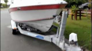 Boat Half Cabin Cruiser 21ft 2012 Gold Coast