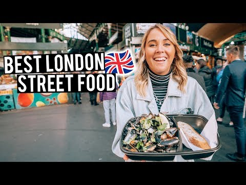 We Tried London Street Food | Camden Markets & Borough Marke