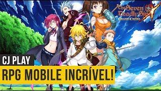 Novo RPG Mobile, The Seven Deadly Sins: Grand Cross, Primeiras Impressões - Android/iOS