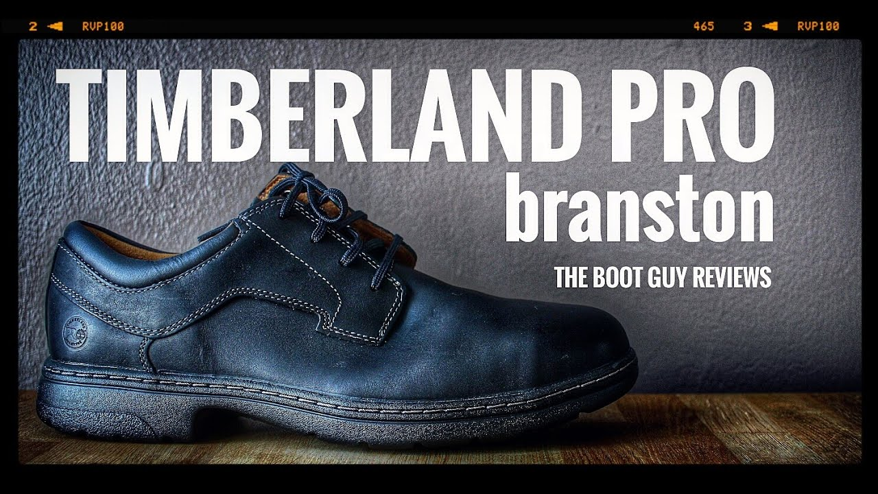4653c09519b TIMBERLAND PRO BRANSTON ALLOY TOE STYLE 91693001 [ THE BOOT GUY REVIEWS ]