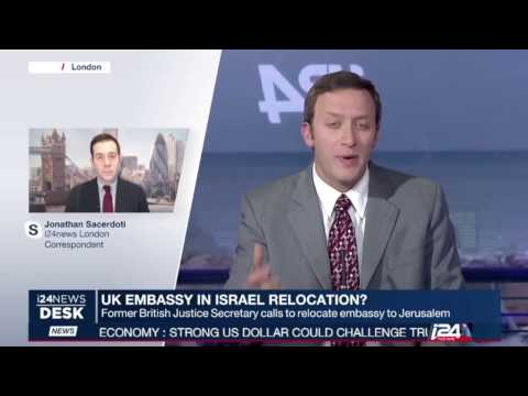 Michael Gove calls for UK embassy to move to Jerusalem: Jonathan Sacerdoti reports