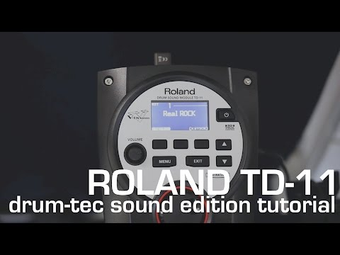 drum-tec Tutorials: How to load additional drum sounds to your Roland TD-11 module