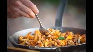 Pilze finden & Pfifferlinge outdoor kochen | mega good