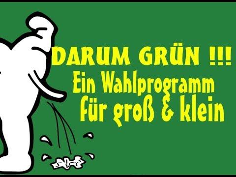 GRÜNE - die neuen spitzen Ideen der Grünen - für jeden was dabei..