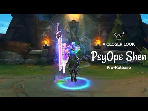 PsyOps Shen Epic Skin (Pre Release)