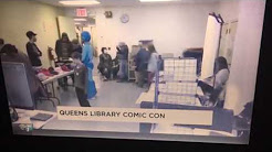 Rego Park Comic Con on NY1!!!