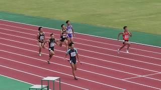2017.8.19 第44回 東北総体 陸上競技 男子4×100mR 予選1組