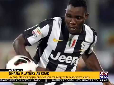 Ghana Player Abroad - AM Sports on JoyNews (11-7-17)