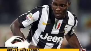 Ghana Player Abroad - AM Sports on JoyNews (11-7-17)