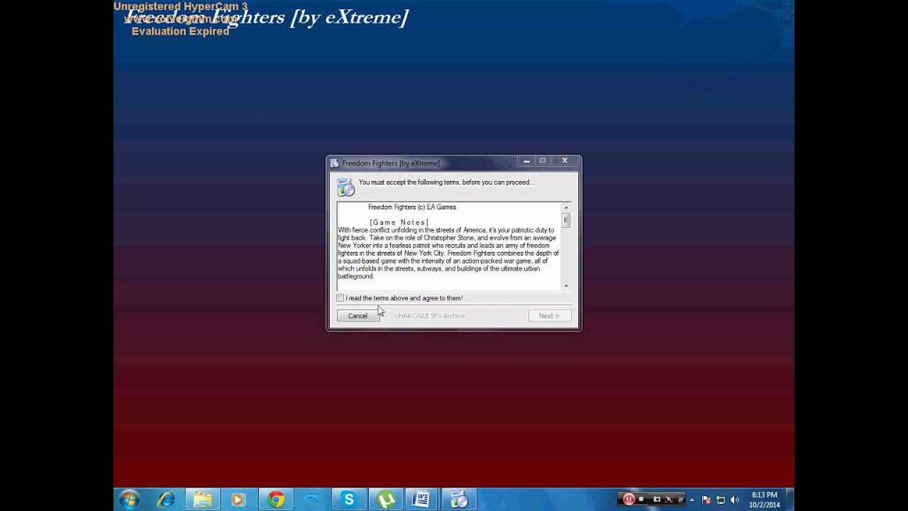HOW TO DOWNLOAD AND INSTALL FREEDOM FIGHTERS HIGHLY COMPRESSED ONLY AT 180 MB - YouTube
