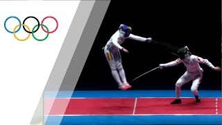 Impressive flying touch by Ana Maria Popescu in women's épée team final