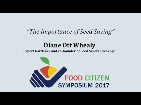 """The Importance of Seed Saving"""