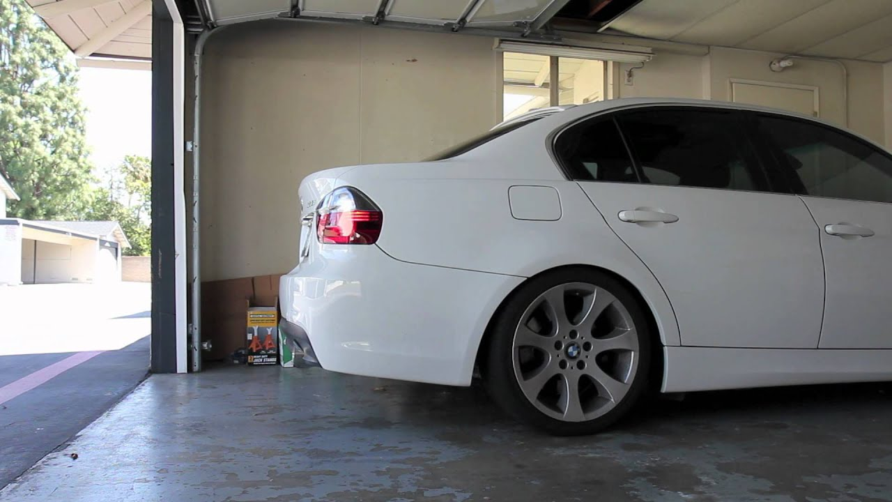 Bmw E90 330i N52 Custom Magnaflow Exhaust Cold Start And