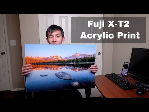 Fujifilm X-T2 Large Print and How I Prepare Photos for Printing