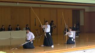 第3回 世界弓道大会 決勝 日本代表 japan national kyudo team -The world kyudo taikai final match-