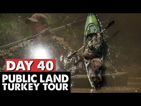 PUBLIC LAND KAYAK ADVENTURE! - Public Land Turkey Tour Day 40
