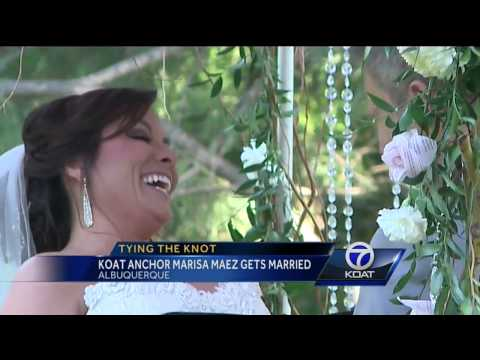 Tying The Knot: KOAT Anchor Marisa Maez gets Married