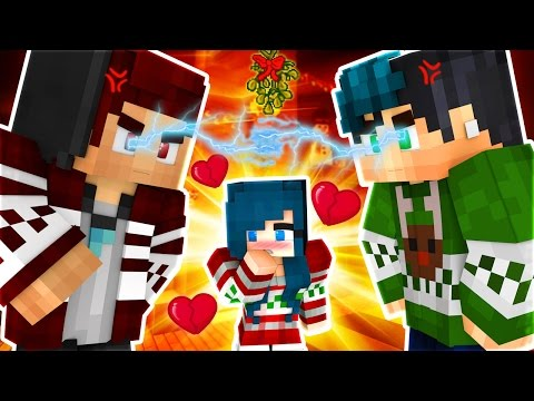 Yandere High School - KISS ME UNDER THE MISTLETOE! [S2: Ep.21 Minecraft Roleplay]