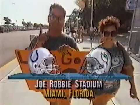 1992 Wk 08 Miami vs Indianapolis Highlights