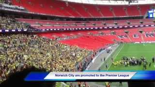 Middlesbrough 0 Norwich City 2-SkyBet Championship Play Off Final Wembley 25th May 2015
