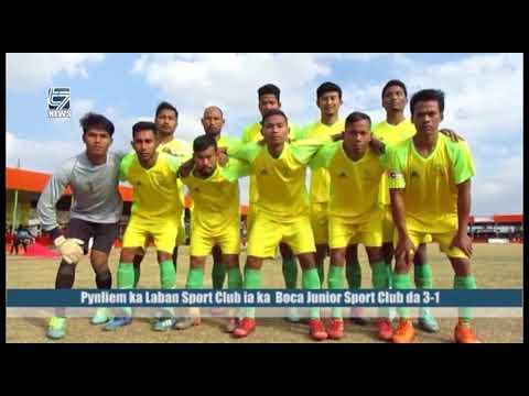 Pynliem ka Laban Sports Club ia ka Boca Junior Sports Club da 3 1