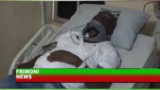 EKITI ELECTION; FAYOSE WEEP AFTER BEEN TEARGAS BY NIGERIA POLICE FORCE