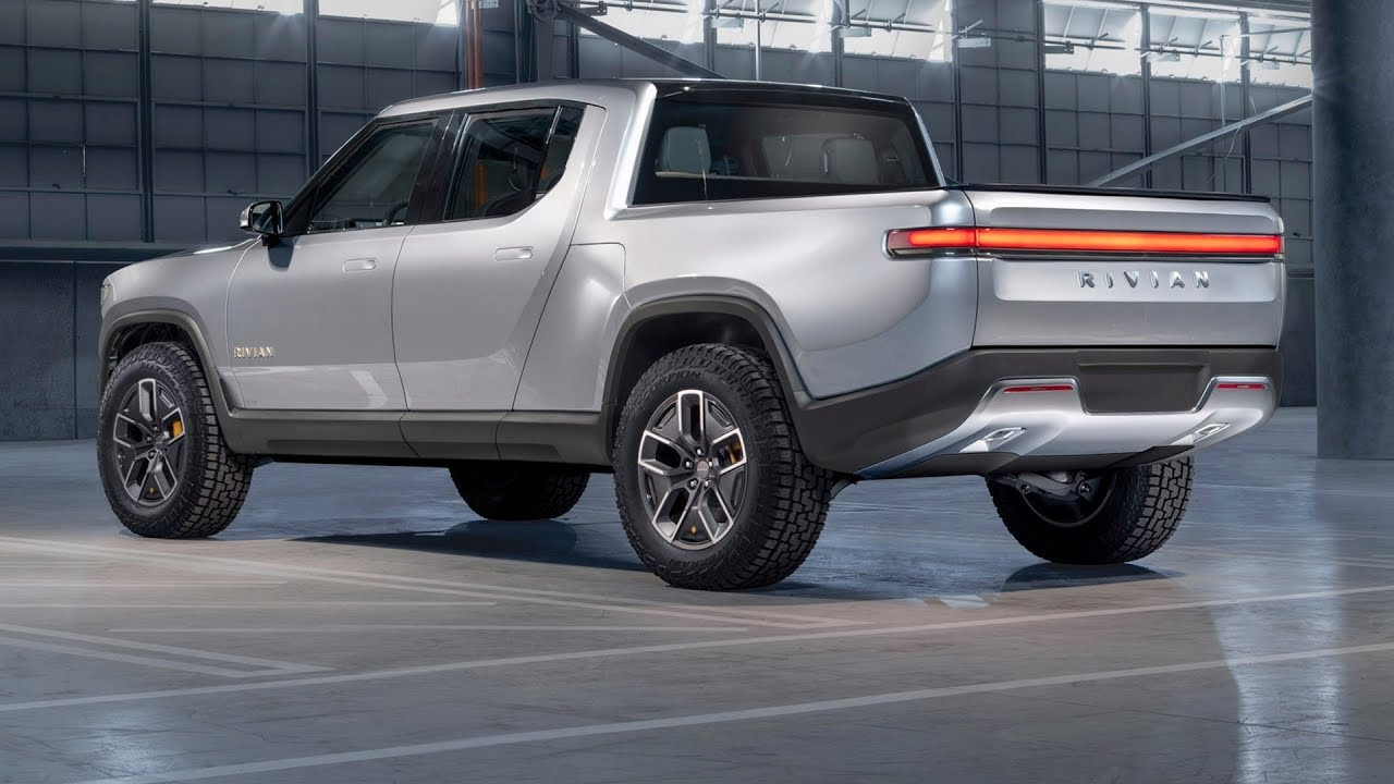Electric Pickup Truck >> 2020 Rivian R1T Truck - The World's First Electric Adventure Vehicles! - YouTube