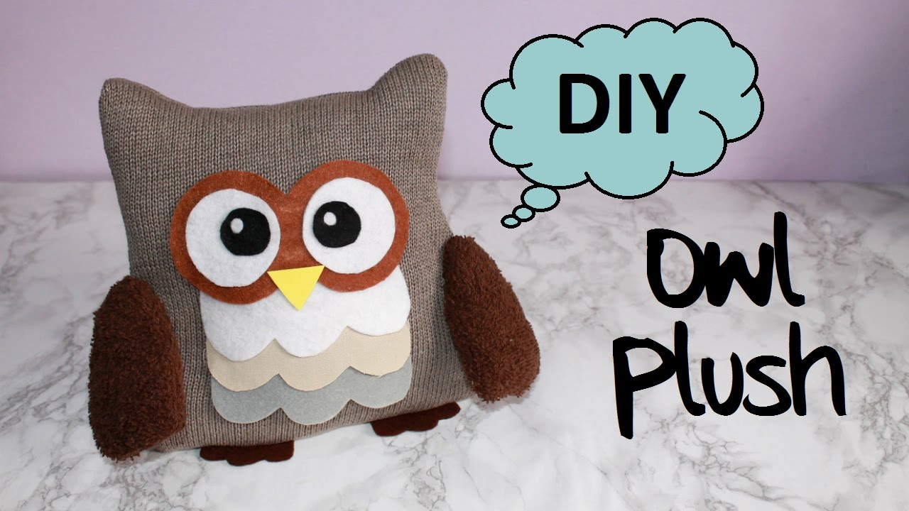Diy Owl Plush With Free Templates