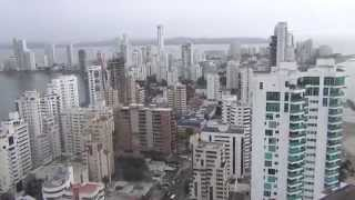 Cartagena de Indias, Colombia Mayo 2014 Video 1/2