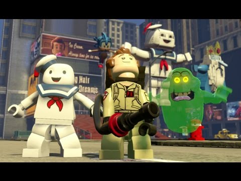 LEGO Dimensions - Ghostbusters Adventure World Gameplay