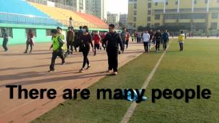 Terry Fox Run in Henan, China
