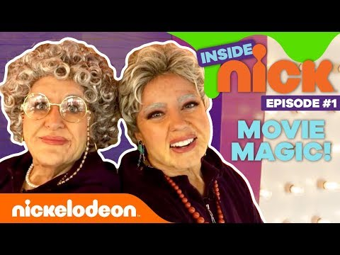 Movie Magic, Sword Fight Training, Old-Age Makeup 🎥 Inside Nick Season 2 Premiere!