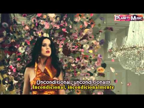 Katy Perry ~ Unconditionally (Lyrics Sub. Spanish/Español) [HD] Official Video
